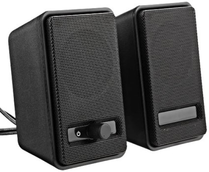 AmazonBasics-Twins-Laptop Speakers