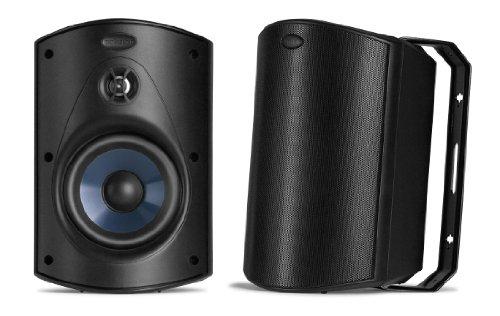 Polk Audio Atrium 5 Speakers Pair Black 0